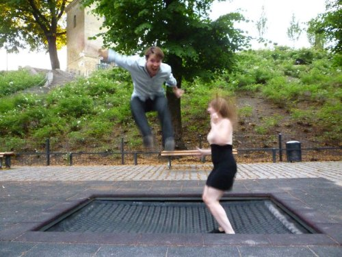 trampolines in Berlin